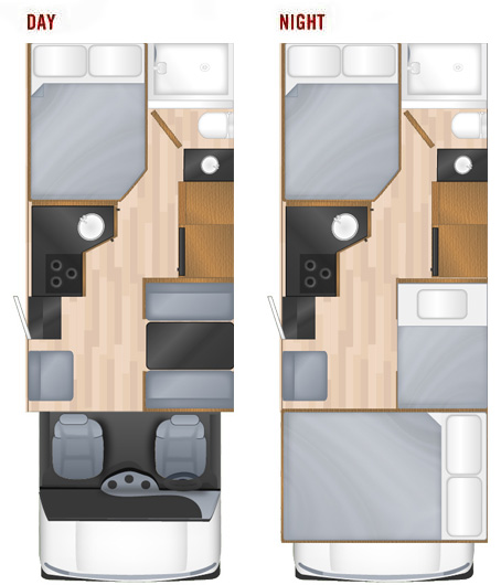 25' Majestic-floorplan